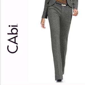 CAbi Gray Favorite Trouser Size 4
